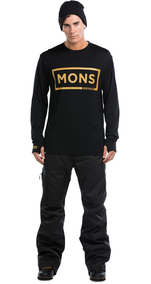 Mons Royale M's Original LS Black